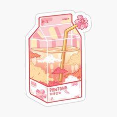 Stickers Kawaii, Preppy Stickers, Anime Stickers, Cute Stickers, Cute Food Drawings, Cute Kawaii Drawings, Arte Do Kawaii, Kawaii Art, Cute Food Art