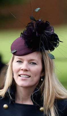 Autumn Phillips, Dec. 25, 2012 in Nerida Fraiman   The Royal Hats Blog