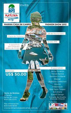 Marina Fashion Show, Casa de Campo, Republica Dominicana