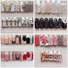 Nails by Nina. I hate long nails but love the design on them. 3d Nails, Pink Nails, Acrylic Nails, Nail Art Wheel, Gel Nagel Design, New Nail Art, Super Nails, Nail Art Hacks, Flower Nails