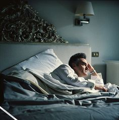 Morrissey in bed. In Rome. Oh my!