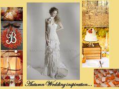 Autumn wedding inspiration by MARINA MANSANTA...
