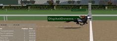 Taylorgotalkedintoit ridden out through the wire to score impressively by a big space! Virtual Horse Racing, Timeline Photos, Wire, Train, Horses, Space, Digital, Display, Horse