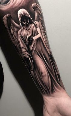 Tattoo sleeve ideas for men drawing design 53 ideas - tattoo sleeve ideas . - Tattoo sleeve ideas for men drawing design 53 ideas – Tattoo sleeve ideas for men drawing design - Angel Sleeve Tattoo, Forearm Sleeve Tattoos, Best Sleeve Tattoos, Tattoo Sleeve Designs, Tattoo Designs Men, Angel Tattoo Men, Body Art Tattoos, Top Tattoos, Best Forearm Tattoos