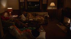 The team sleepover at Gibbs' house.