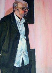 'Man in a black suit' by Glen Cheesman