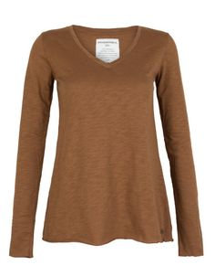 Holly cognac top Armedangels