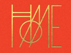 HOME / #logotype #typography #1920s #gold / Mike Smith