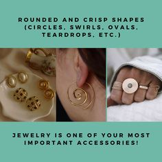 Jewelry for Each Body Type — Arezu Aesthetics Gamine Style, Soft Gamine, Light Spring, Warm Spring, Some Body, Body Types, Swirls, Spice Things Up, My Style