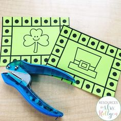 Celebrate St. Patrick's Day with your preschoole, kindergarten, or homeschool students with these 10 St. Patrick's Day fine motor skills activities. The activities can be used multiple ways, but they help develop fine motor skills of prek or kinder students. These low-prep activities may require some prep work like laminating, and they are perfect for small groups, morning tubs, centers, or any time you want your students to practice their skills this spring. #StPatricksDay #Kindergarten