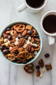 Espresso Snack Mix Recipe