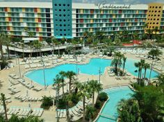Universal Studios Orlando  Cabana Bay Opening second half this week - amazing Lazy River Complex!!