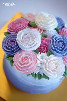 큰누나의생일을 축하하기 위해 남동생이 직접 준비한 특별한선물 나나케잌_부산꽃케익 by.나나 색감만보아...