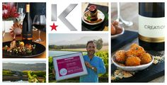 Creation does t again and walks away with the Klink Award for  'Best Food and Wine Pairing at the Cellar Door'