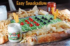 """Easy Snackadium from """"Eat at Home"""""""