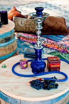 shisha (for tea vapor)