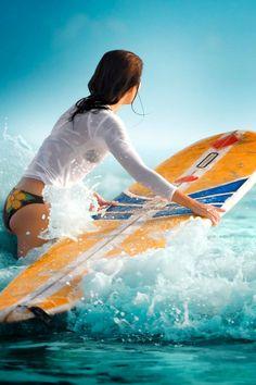 Surfer Girl Silhouette Sunset Wallpaper 28 Iphone Wallpapers For Ocean Lovers Surf Pinterest