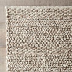 The Florian Hand-Woven Natural Area Rug at Birch Lane.