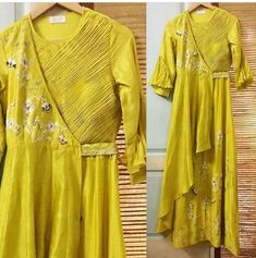 33 ideas dress maxi indian party for 2019 Kurti Designs Party Wear, Kurta Designs, Blouse Designs, Indian Designer Outfits, Indian Outfits, Designer Dresses, Designer Kurtis, Heavy Dresses, Nice Dresses