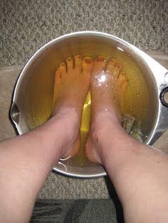 The Wife Life: Grace's Miraculous Foot Soak