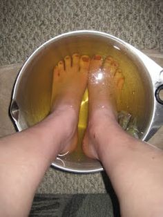 The Wife Life: Grace's Miraculous Foot Soak
