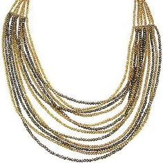 Pannee Crystal Multi-Strand Necklace on shopstyle.com