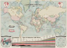 Submarine cable map details the secret world of the underwater internet
