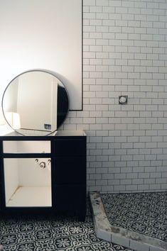 GroBartig 40 Ideen Für Zementfliesen   Heißer Trend In Der Badezimmergestaltung