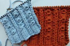 How to Knit * Donut Rib Stitch