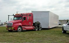 This is how the modular buildings get there