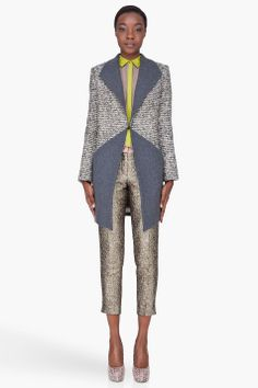 matthew williamson tweed coat