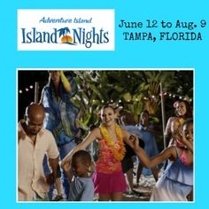 Summer Celebration at Adventure Island in Tampa, Florida. Join the fun!  #Travel #Florida #Family #Waterpark #Tampa