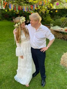 Boris Johnson & Carrie Symonds May 29 2021 Carrie Johnson, Mr Johnson, Boris Johnson, Boho Wedding, Wedding Ceremony, Westminster Cathedral, Rent Dresses, Surprise Wedding, Groom Wear