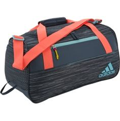 Keep up with your on-the-go lifestyle with the adidas® Women's Squad III Duffle Bag, the perfect addition to your gym routine and busy life. The Squad III duffle provides you with enough space to store your gym clothes, shoes and more with various mesh pockets and a freshPACK™ ventilated shoe compartment. Specifically designed for the female athlete, this bag provides plenty of storage space so you can stay motivated and on the move.