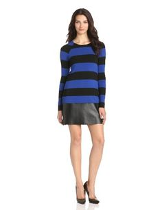 Bailey 44 Women's Password Long Sleeve Stripe Dress, Blue/Black, Small Bailey 44 http://www.amazon.com/dp/B00DVJIE8C/ref=cm_sw_r_pi_dp_6W4Zvb1KC0ZJT