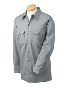 Dickies – Men's 5.25 oz. Long-Sleeve Work Shirt « Impulse Clothes