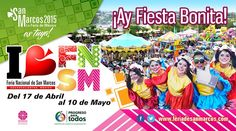 Del 17 de Abril al 10 de Mayo en #Aguascalientes