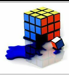 A place for different pictures of puzzling cubes! Rubiks Cube Algorithms, Cube Puzzle, Mosaic Art, Case Study, Art Inspo, Nerd, Geek Stuff, Rubik's Cube, Toys