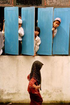 THAILAND. Talokapo. Schoolchildren in a Muslim school.