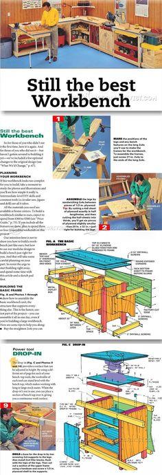 Workstation Plans - Workshop Solutions Plans, Tips and Tricks   WoodArchivist.com