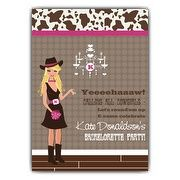 Cowgirl Bachelorette Party Invitations | PaperStyle