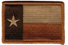Texas Tactical Patch - Subdued Texas Orange by Gadsden and Culpeper, http://www.amazon.com/dp/B008PM9772/ref=cm_sw_r_pi_dp_z9B.qb0RRA18V