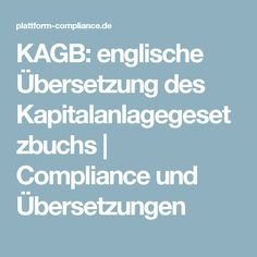 compliance übersetzung