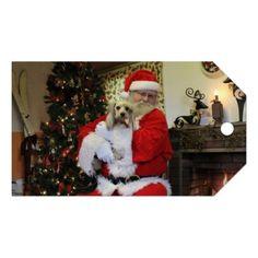 Chewy and Santa Gift Tags - Xmas ChristmasEve Christmas Eve Christmas merry xmas family kids gifts holidays Santa
