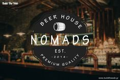 Another one special logo for Beer House! Thank you!