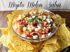 Mojito Melon Salsa Recipe