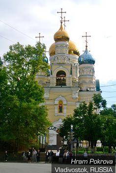 Hram Pokrova -Vladivostok, Russia                                                                                                                                                                                 More