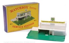 "Matchbox No.MG1 ""BP"" Service Station"