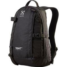 Haglöfs Tight XS är en ryggsäck skapad för att följa kroppens rörelser och sitta tight mot ryggen. Droppformade front- och sidoplan ger låg tyngdpunkt.