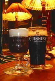 "Joe Sheridan's Original Irish Coffee. Irish whiskey, strong black coffee, sugar & fresh whipping cream or double cream. ""Irish coffee was invented in 1943 by Joe Sheridan, the chef at the old flying-boat base at Foynes, County Clare."""